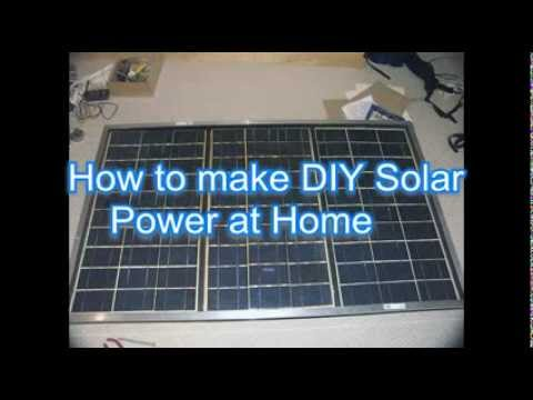 DIY Solar Power at Home – Best DIY SOLAR POWER