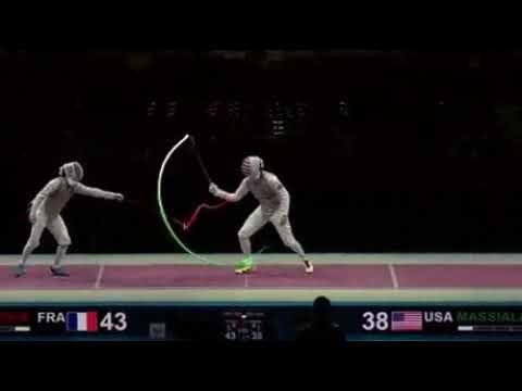 Визуализация траекторий шпаги на соревнованиях