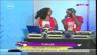 Tukuza: Guest Anchor Ivlyn Mutua reading your social media feedback, 24th October 2016