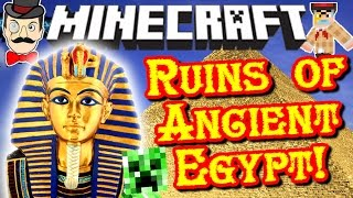Minecraft ANCIENT EGYPT Dimension! Mummies, Traps, Ghosts, Treasure&Pharaohs!