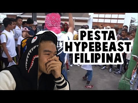 REACTION PERSATUAN ANAK HYPEBEAST FILIPINA | #HuntingFake
