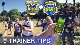 BEHIND THE SCENES AT SAFARI ZONE DORTMUND - SECRET YOUTUBER PROJECT! by Trainer Tips