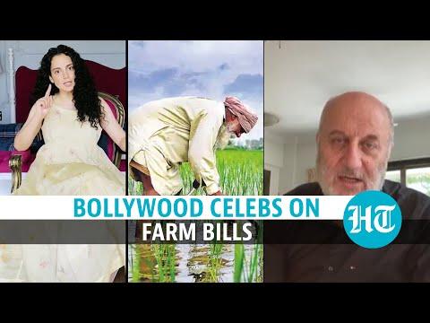 Farm protest: Kangana Ranaut 'terror' row; Anupam Kher's 1990 film example