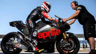 8. 2016 Aprilia RSV4 GP MotoGP race bike