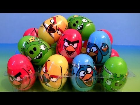 angry - In this easter bag we have 25 angry birds surprise eggs with candy and stickers. You must find the golden egg. Music from Kevin MacLeod. Thanks for watching ...