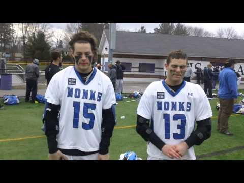 Men's Lacrosse Interview with Andrew Sullivan and Dalton Eldridge