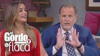 Así fue la reacción de El Gordo al ver a Clarissa Molina de espaldas y rubia