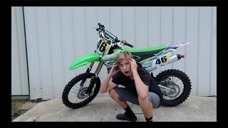 9. I GOT A NEW DIRTBIKE *KX100*