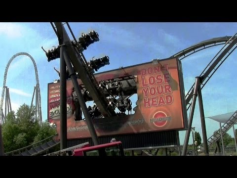 thorpe park the swarm - For the 2013 season the last two rows of seats on the Swarm at Thorpe Park near London, England were turned around so that riders face backwards. I returned ...