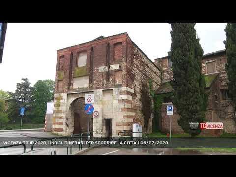 VICENZA TOUR 2020, UNDICI ITINERARI PER SCOPRIRE LA CITTA' | 06/07/2020