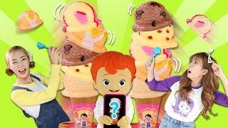 오늘은 엘리와 줄리가 아이스크림 쌓기 대결 놀이를 해봤어요.꼬마캐빈이 보여주는 미션 사진과 같은 모양으로 재빨리 아이스크림을 먼저 쌓고 종을 치면 이기는 게임인데, 게임에서 지는 사람에게는 벌칙이 기다리고 있대요! 과연 오늘 대결의 승자는 누구일지 영상을 통해 확인해주세요!--[ 유튜브 공식 채널 ]▶ 캐리앤플레이 유튜브채널http://www.youtube.com/carrieandplay▶ 캐리앤북스 유튜브채널http://www.youtube.com/carrieandbooks▶ 캐리앤송 유튜브채널http://www.youtube.com/carrieandsong▶ 캐리앤잉글리시 유튜브채널https://www.youtube.com/channel/UCvLrF72yAnQ4mMxpM_yS2CQ▶ 엘리가 간다 유튜브채널https://www.youtube.com/channel/UCDnXD0-ABYAj6JIOX6QqU2w▶ 엘리앤 투어_'엘리가 간다' 네이버 TVhttp://tv.naver.com/ellieandtour[ 캐리와장난감친구들 공식 SNS ]▶ 캐리와장난감친구들 공식 페이스북 : https://www.facebook.com/CarrieAndFriends/▶ 캐리와장난감친구들 공식 인스타그램 : https://www.instagram.com/carrie_and_friends/▶ 캐리와장난감친구들 공식 카카오스토리 채널 : https://story.kakao.com/ch/toyfriends/