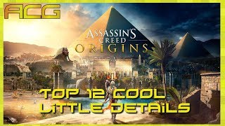 Assassin's Creed Origins 12 Cool Little Details