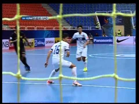 [Bán kết Futsal các CLB châu Á 2015] Thái Sơn Nam vs Qadsia