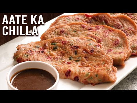 Aate Ka Chilla | MOTHER'S RECIPE | How To Make Wheat Cheela | Amchur Chutney | Healthy Breakfast