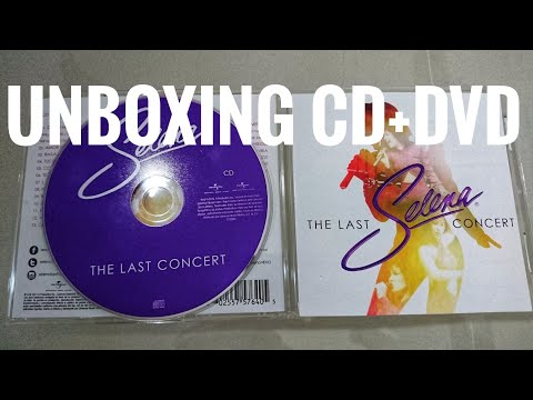 Unboxing #Selena The Last Concert #CD #DVD Edition