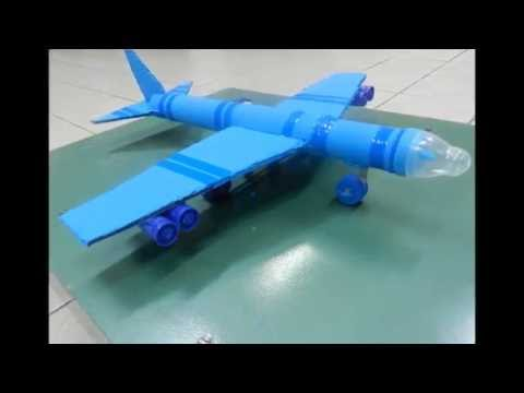Avião azul