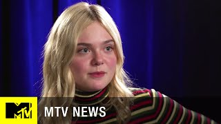 Elle Fanning Talks Playing Transgender in  'About Ray'  | MTV News