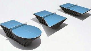 全ての卓球ファン必見!選手の障がいによって変形する卓球台/パラ卓球協会PR動画