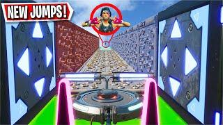 This 50 Level AciDicBliTzz Deathrun has NEW Jumps! (Fortnite Creative)