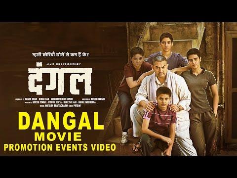 Dangal Movie 2016 Promotion Events Full Video   Aamir Khan, Sakshi Tanwar