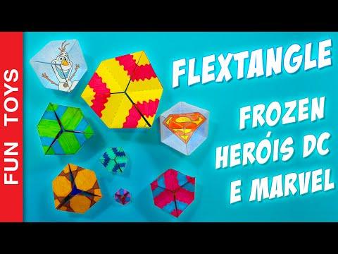 Flextangle paper toy to spin endlessly! Frozen and Heroes Templates Only Here! Kaleidocycle - DIY 🌟:  In this video we will teach how to create a kaleidocycle, which is also a flextangle.And what is this? It's a very interesting paper toy. You can turn it endlessly creating different designs.In addition to the base to the template to create your own kaleidocycle, we also created two more special flextangles. A superhero with the symbols of Iron Man, Captain America, Batman and Superman and the other with Anna , Elsa , Olaf and Kristoff from the movie Frozen.You can download the templates in this link: http://bit.ly/Flextangle_FreeFlextangle Kaleidocycle is a 3d hexagon, formed by tetrahedrons . It forms a ring which can be rotated infinitelyHow about you? What designs will form with your kaleidocycle? Would you like a kaleidocycle with other characters or drawings? We will create a new one from the suggestions with more comments! Comment bellow!Buy coloring supplies here: http://bit.ly/Coloring_Other cool vídeos:- DIY Star Wars Bookmarkers:http://www.ascendents.net/?v=OAsvuJBVMAw&list=PL2edokDcUWHLRrau5wZfxiP5gZjU7EHhA- Puffy Paint DIY, Liitle Ponny, Kung Fu Panda, Angry Birds:http://www.ascendents.net/?v=Z8MWyPKdnlM&list=PL2edokDcUWHLRrau5wZfxiP5gZjU7EHhA- DIY Kylo Ren Mask & Hood from Star Wars: The Force Awakens:http://www.ascendents.net/?v=YxxeWXcf3Lc&list=PL2edokDcUWHLRrau5wZfxiP5gZjU7EHhA- Draw with 3d Effect - DIYhttp://www.ascendents.net/?v=Lut8_6bJCmg&list=PL2edokDcUWHLRrau5wZfxiP5gZjU7EHhA- Minions Xmas Window Painting - DIY:http://www.ascendents.net/?v=CATQWufaz64&list=PL2edokDcUWHLRrau5wZfxiP5gZjU7EHhA- DIY - Lego Marble Maze:http://www.ascendents.net/?v=JsdElX_MarY&list=PL2edokDcUWHLRrau5wZfxiP5gZjU7EHhA- Minios + Minecraft + Lego:http://www.ascendents.net/?v=ujhl17HUNsQ&list=PL2edokDcUWHLRrau5wZfxiP5gZjU7EHhA- Adventure Hour + Minecraft + Lego:http://www.ascendents.net/?v=1IrpUCa2t-s&list=PL2edokDcUWHLRrau5wZfxiP5gZjU7EHhA- DIY - Lego Rubber Band Carht