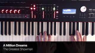 Video A Million Dreams from The Greatest Showman - Piano Cover MP3, 3GP, MP4, WEBM, AVI, FLV Januari 2018