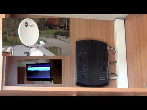 Automatische Camping Satelliten Anlage ASR 650 Flat im Test