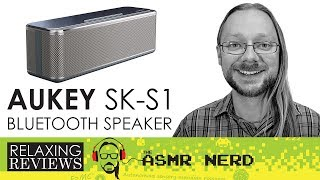 Today on Relaxing Reviews I check out AUKEY's new SK-S1 bluetooth speaker. Priced at just $35 USD, this compact budget...