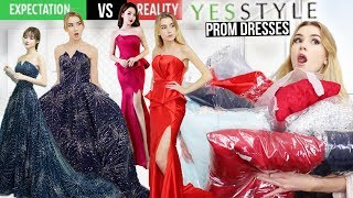 Video TRYING ON YESSTYLE PROM DRESSES!! *Are these dresses any good?* MP3, 3GP, MP4, WEBM, AVI, FLV September 2018