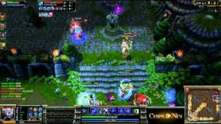 (HD070) 5c5 -Nation war- France Vs Pologne -Part 2- League Of Legends Replay [FR]
