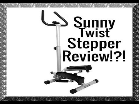 $55! Sunny Health and Fitness Twist Stepper Review! 👍 An inexpensive workout!