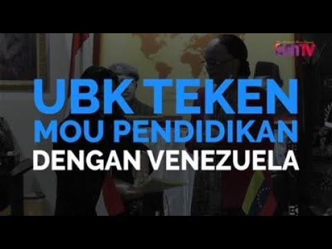 UBK Teken MoU Pendidikan Dengan Venezuela