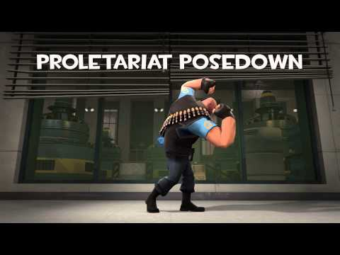 Proletariat Posedown Team Fortress 2