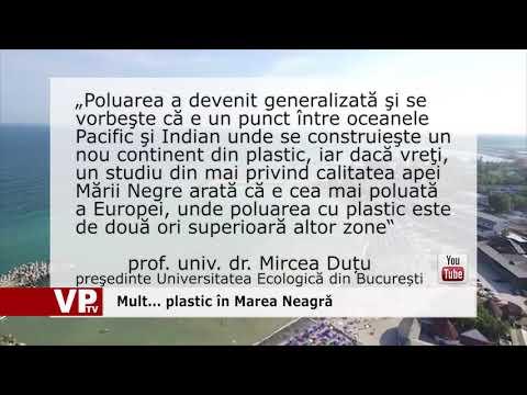 Mult… plastic în Marea Neagră