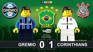 Brick film reconstruction of the 2017 Brasileirão Serie A between Gremio and Corinthians.10ª Rodada Serie A Brasileirão 2017Gremio 0 x 1 Corinthians- 52' Jadson24/06/2017-----------------------------------------------------------------------------------------------------Top Link Competitions:- Champions League • https://www.youtube.com/playlist?list=PLDgxLNKesJl59dj09mFzcegFIPp6WuZzr - Serie A • https://www.youtube.com/playlist?list=PLDgxLNKesJl4TjpWj4a2DVmglqt4p6fUu - LaLiga • https://www.youtube.com/playlist?list=PLDgxLNKesJl59dj09mFzcegFIPp6WuZzr - Premier League • https://www.youtube.com/playlist?list=PLDgxLNKesJl7i36gCR5CicjPy_wRCDYuO - FIFA World Cup • https://www.youtube.com/playlist?list=PLDgxLNKesJl6D9GsBdjq3lngqH-AYc8EvTop Link Club:- Real Madrid CF • https://www.youtube.com/playlist?list=PLDgxLNKesJl56wTYUI1DoIGPoQHYzI9vk - FC Barcelona • https://www.youtube.com/playlist?list=PLDgxLNKesJl495fjfDEcLABBuWTAhB5L1 - Chelsea • https://www.youtube.com/playlist?list=PLDgxLNKesJl7bYGLGK3YuzDiq_2_nAPEA - Manchester United • https://www.youtube.com/playlist?list=PLDgxLNKesJl6HKGMfEMxhRpAHfJMeNDom- Juventus FC • https://www.youtube.com/playlist?list=PLDgxLNKesJl7_LsTYvAWQMlpIA6rJ32Hm - AC Milan • https://www.youtube.com/playlist?list=PLDgxLNKesJl5lOf_KfRfmP0Cciwhpr4cR - FC Inter • https://www.youtube.com/playlist?list=PLDgxLNKesJl6ccUhR3yipMwKRh44WQR10 - SSC Napoli • https://www.youtube.com/playlist?list=PLDgxLNKesJl6hHHfUC1qhA_mxbIf8h-eQ - AS Roma • https://www.youtube.com/playlist?list=PLDgxLNKesJl4q9am3RuaTzjKa3TJHgEHo Top Link Finals: https://www.youtube.com/playlist?list=PLDgxLNKesJl4RZ4B0njyFrWB9Ayb7-EYF-----------------------------------------------------------------------------------------------------LEGO® is a trademark of the LEGO Group of companies which does not sponsor, authorize or endorse this channel.