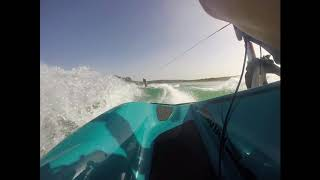 10. Wakeboarding Behind The Sea doo Wake Pro 230