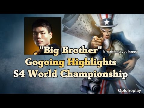 China - Road To World : http://www.youtube.com/watch?v=Q8AnjrGRmAQ OMG Gogoing has formidable look so fans in China call him da big brother of the team.