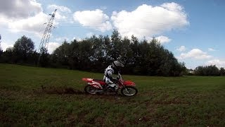 8. First time on new Bike [Honda CRF250R]