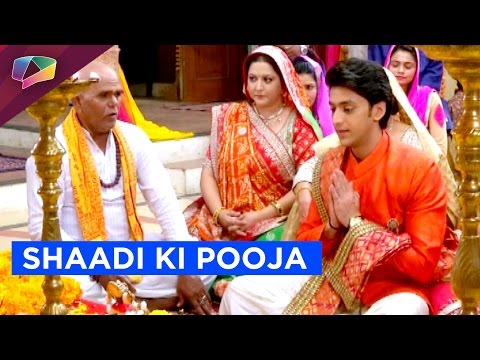 Aryan looks different for his pre-wedding pooja