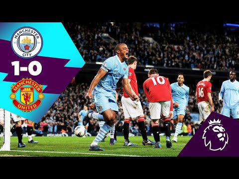MAN CITY 1-0 MAN UNITED HIGHLIGHTS | DARE TO DREAM | On This Day 30th April 2012