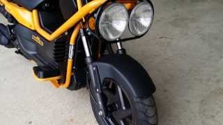 6. 2005 Big Ruckus For Sale / Honda of Chattanooga TN - Used Scooters // PS250 Yellow 250cc