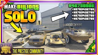 "THIS IS THE BEST SOLO MONEY GLITCH WORKING RIGHT NOW!  FINALLY! *SOLO* GTA 5 MONEY GLITCH 1.40! Make $10,000,000 In ONLY 5 Mins ''SOLO'' UNLIMITED MONEY GLITCH (Xbox One, Ps4, PC) GTA 5 Online SOLO MONEY GLITCH 1.40! (SOLO Duplication Glitch 1.40)♛ DIRECTOR -  HispanicTi7anic (Help Her Get 3K And Subscribe!) ► http://bit.ly/SubToHispanicTi7anic ◄►ROAD TO 150K! Join the #PrestigeFam and Subscribe! ✔🔔👆Turn on Post Notifications👆🔔✔ http://bit.ly/SubToPmHDThumbnail base: https://www.youtube.com/channel/UCu8LgpT5wfHRX518pUvzk5QFounder? ► The Prestige Community WEBSITE - Submit videos, Cheap GFX & More! http://prestigecommunity.weebly.com/ ▬▬▬▬▬▬▬▬▬ஜ۩♛ DOPE GFX, INSTANT GTA CASH & RANK,  COD RECOVERIES AND MORE!  ♛۩ஜ▬▬▬▬▬▬▬▬▬★ For Cheap, Reliable GTA V Accounts and INSTANT GTA Cash + Rank: ​https://goo.gl/PPD27p ★ For Cheap Games, Call of Duty Modded Accounts and Recoveries, In-game items, gaming accessories and more! https://goo.gl/rvjMQK Use code - 'PMHD' for 5% OFF!★ Need Intros or GFX? Buy Cheap Professional Designs from PrestigeStudios! (My team) http://prestigecommunity.weebly.com/gfx-shop.html▬▬▬▬▬▬▬▬▬ஜ۩♛ Join The Prestige Community ♛۩ஜ▬▬▬▬▬▬▬▬▬▼ Want to be Featured on PmHD? ▼Subscribe and Submit your Glitches, Tips and Tricks videos to our website! http://prestigecommunity.weebly.com/submit-your-videos--contact.htmlTwitter: https://twitter.com/PrestigeMontageFB: http://bit.ly/PmHDFBSubscribe: https://www.youtube.com/c/PmHD?sub_confirmation=1♛ Subscribe to our Prestige Channels ♛PmHD (100K+ GTA): https://www.youtube.com/c/PmHD?sub_confirmation=1PrestigeGaming (15K+ Gaming): https://bitly.com/SubPrestigeGamingPrestigeMusick (8K Music): http://www.youtube.com/PrestigeMusick?sub_confirmation=1  PrestigeStudios (GFX/INTROS): http://bit.ly/SubPrestigeStudios PrestigeComedy (22K Entertainment): http://bit.ly/SubPrestigeComedy▬▬▬▬▬▬▬▬▬ஜ۩♛ INTRO SONG ♛۩ஜ▬▬▬▬▬▬▬▬▬My Music channel: https://www.youtube.com/user/PrestigeMusick  Intro song - https://www.youtube.com/watch?v=ZeLeAgQ_DtoOutro Song - https://www.youtube.com/watch?v=BbZP3zCLBrM▬▬▬▬▬▬▬▬▬ஜ۩♛ 10 Popular GTA 5 Online GunRunning DLC Glitches Not to Miss! ♛۩ஜ▬▬▬▬▬▬▬▬▬► GTA 5 Online TOP 10 GLITCHES 1.40! (NEW) 10 BEST WORKING GLITCHES GTA 5 1.40 (Top 10 Glitches 1.40) http://youtu.be/NeCoPZe9SKk► GTA 5 Online TOP 10 CLOTHING GLITCHES 1.40! NEW BEST 10 GUNRUNNING Outfit Glitches! Top 10 Glitches 1.40 http://youtu.be/w-VCsr8F7gM► GTA 5 Online TOP 5 GLITCHES 1.40! (NEW) FREE $30,000,000 GLITCH, 100% INVISIBLE BODY, RARE CLOTHING! http://youtu.be/-g17pseXp7E ► GTA 5 Online TOP 5 CLOTHING GLITCHES 1.40! *NEW* DIRECTOR MODE GLITCH 1.40, RARE JOGGERS, INVISIBLE ARMS! http://youtu.be/7tBluIaowgk► FINALLY! GTA 5 Online ''XBOX ONE'' & PS4 DIRECTOR MODE GLITCH 1.40! SOLO GTA 5 ''Money Glitch 1.40'' http://youtu.be/r-YbkDu1r-k► GTA 5 CHECKERED OUTFIT GLITCH 1.40! (NEW) SOLO 'CHECKERBOARD OUTFIT' TUTORIAL GTA 5 Online 1.40 https://www.youtube.com/watch?v=63XipThzvAY► OMG! NEW $10,000,000 /HR ''SOLO'' MONEY GLITCH! GTA 5 Online 1.40 *SOLO* ''UNLIMITED MONEY GLITCH'' http://youtu.be/8Ev84bLKHYE► GTA 5 RP GLITCH 1.40! *SOLO* ''UNLIMITED RP GLITCH 1.40'' Level Up FAST AND EASY 1.40 (PS4/Xbox /PC) http://youtu.be/edYOw7g-XAs► GTA 5 GUNRUNNING GLITCHES 1.40! *NEW* MILITARY ''MODDED OUTFIT GLITCH 1.40'' (Clothing Glitches 1.40) http://youtu.be/dtMbuEDpvP8► GTA 5 Online TOP 3 MODDED OUTFITS 1.40! GUNRUNNING Modded Outfit Glitches Using Clothing Glitches! https://www.youtube.com/watch?v=jjUQeyxYwp0▬▬▬▬▬▬▬▬▬ஜ۩♛ A Personal Note From Xav ♛۩ஜ▬▬▬▬▬▬▬▬▬ Hey #PrestigeFam! Thanks for watching guys! Help us reach 150,000 Subscribers by rating the videos and leaving feedback! Subscribe if you're new here for the best and latest Gaming Glitches, tips and tricks! Stay tuned, Stay Prestige ✌️✌️#PrestigeFam #PrestigeCommunity-Xav, PmHD♛ Fair Use Disclaimer:♛ COPYRIGHT DISCLAIMER UNDER SECTION 107 OF THE COPYRIGHT ACT 1976 - Copyright Disclaimer Under Section 107 of the Copyright Act 1976, allowance is made for ""fair use"" for purposes such as criticism, comment, news reporting, teaching, scholarship, and research. Fair use is a use permitted by copyright statute that might otherwise be infringing. Non-profit, educational or personal use tips the balance in favor of fair use"
