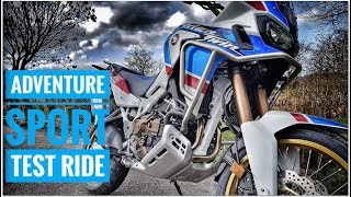 3. New Africa Twin Adventure Sports DCT Test Ride UK