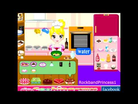 Cooking Games - Game Of Girl Cooking Cake