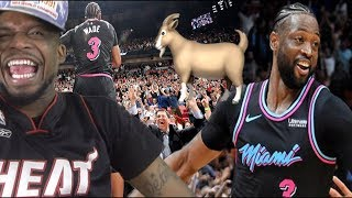 DWYANE WADE GOATS THE WARRIORS ONE LAST TIME! WARRIORS vs HEATS HIGHLIGHTS