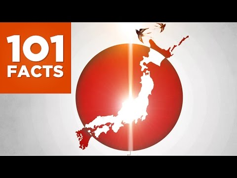 101 Facts about Japan (видео)