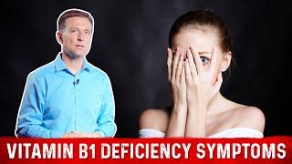 Vitamin B1 Deficiency Symptoms