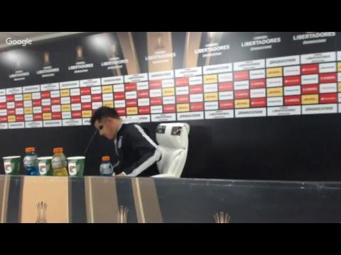 Conferencia Jorge Almirón pos San Lorenzo (Libertadores)