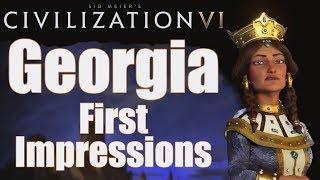 Video Civilization 6: First Impressions - Georgia Civilization MP3, 3GP, MP4, WEBM, AVI, FLV Januari 2018