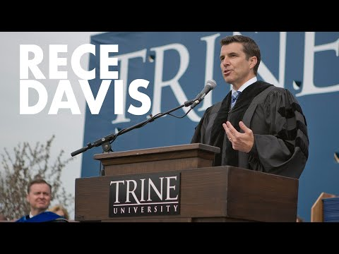 2013 Trine University Commencement Speech by Rece Davis